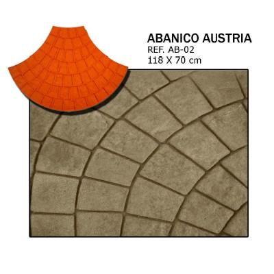 molde abanico austria