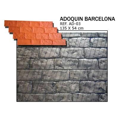 molde adoquin barcelona