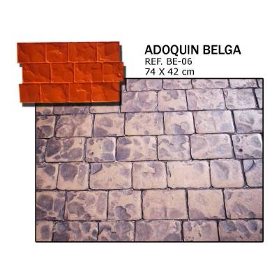 molde adoquin belga