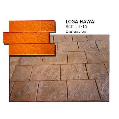 molde losa hawai