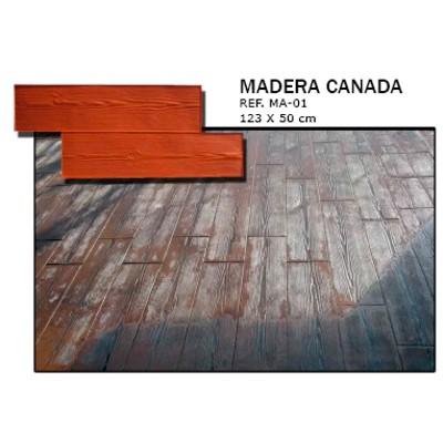 molde madera canada