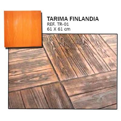 molde madera tarima finlandia