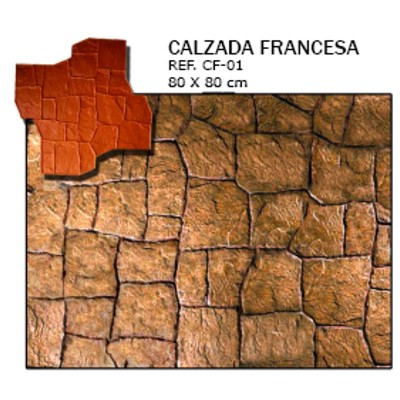 molde piedra calzada- francesa
