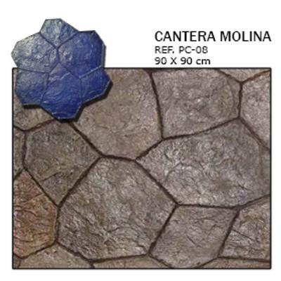 molde piedra cantera molina
