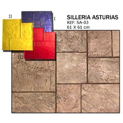 molde silleira asturias