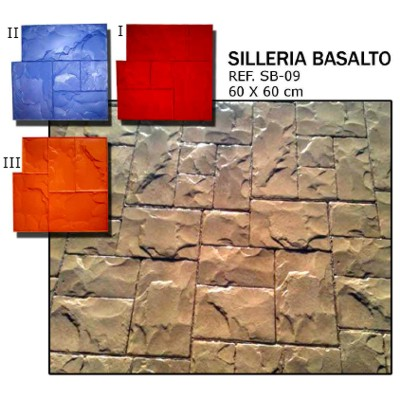 molde silleira basalto
