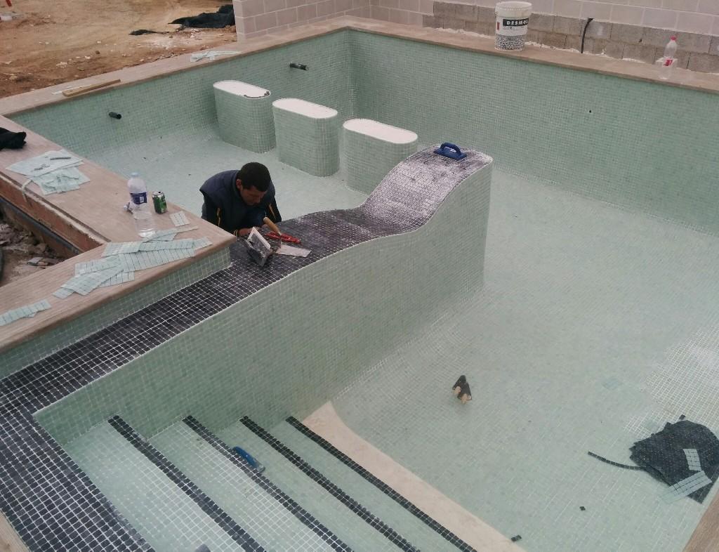 Galaer a de fotos de piscinas de obra y hormigon impreso - Impermeabilizantes para piscinas ...