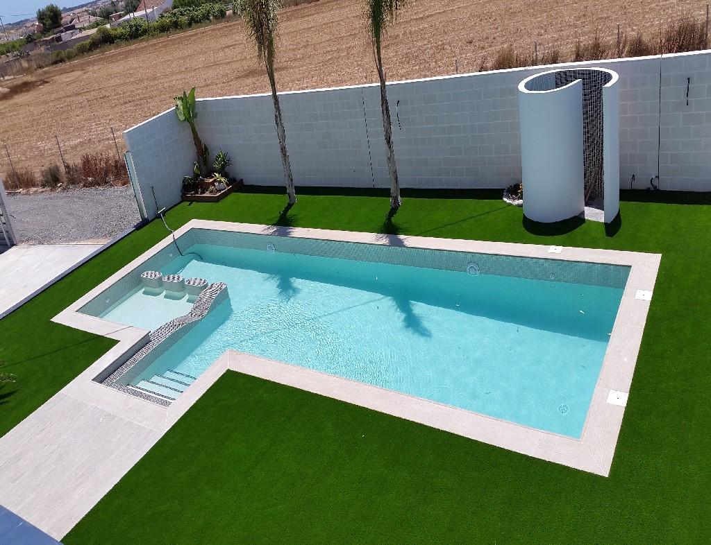 Galaer a de fotos de piscinas de obra y hormigon impreso for Coronacion de piscinas precios